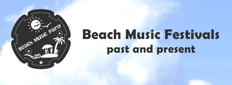 List of Beach Music Festivals